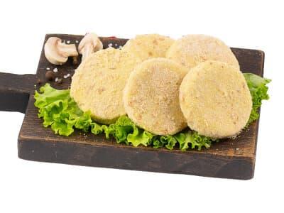Котлеты картофельные с грибами
