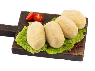 Зразы картофельные с капустой (Постные)