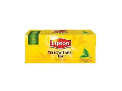 Чай Липтон Черный 25пак.