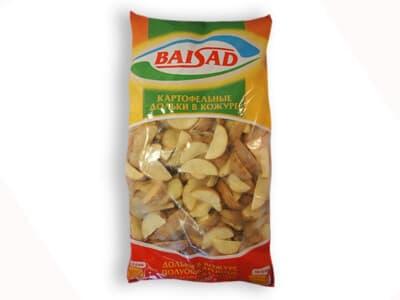 Картофельные дольки в кожуре