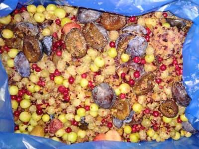 Компотная смесь фруктово ягодная