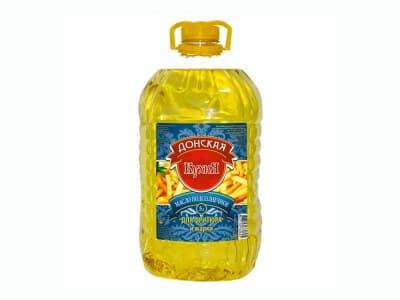 Масло фритюрное растительное 5 л