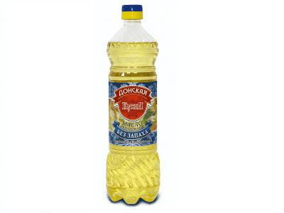 Масло подсолнечное рафинированное 0,9 мл.