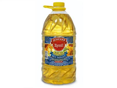 Масло подсолнечное рафинированное (растительное) 5л.