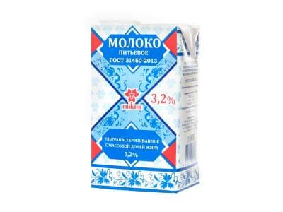 Молоко Тяжин 3,2 %