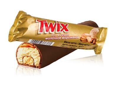 Мороженое Твикс