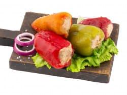 Перец фаршированный овощной ( Постный)
