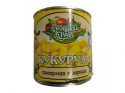 "Кукуруза десертная ""Овощной край"" 400 гр."