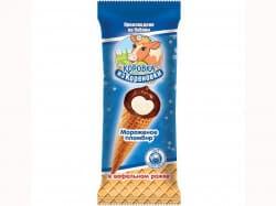 Мороженое  пломбир в ваф.рожке
