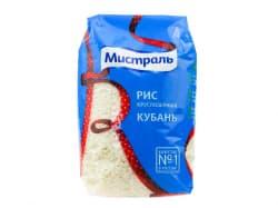 """Рис """"Мистраль"""" Кубань круглый  900 гр."""