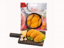 Зразы куриные с сыром и грибами