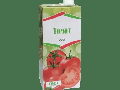 Сок томатный 1 л. ( тетропак)
