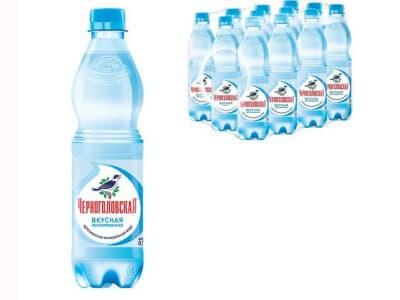 Вода Черноголовская артезианская без газа